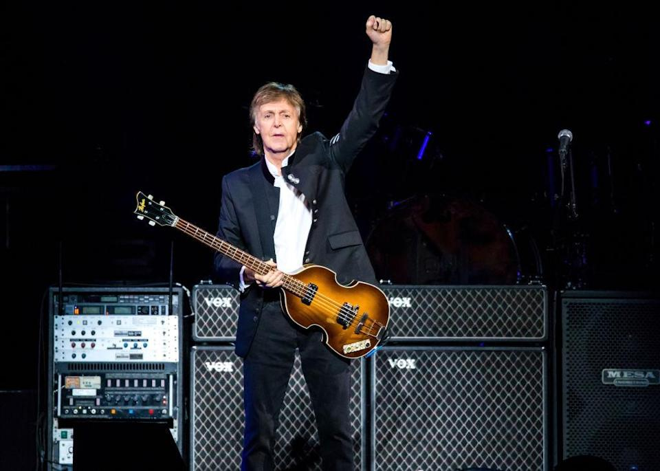 Paul McCartney performs on Oct. 1, 2017, in Detroit. (Photo: Scott Legato/Getty Images)