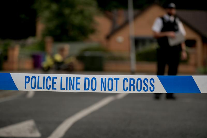 A generic stock photo of police tape at a crime scene in Liverpool. (Photo by Peter Byrne/PA Images via Getty Images)