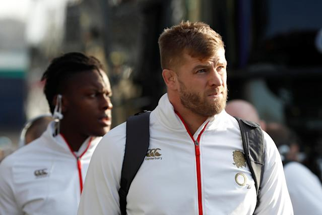 Rugby Union - Six Nations Championship - Scotland vs England - BT Murrayfield Stadium, Edinburgh, Britain - February 24, 2018 England's George Kruis arrives at the stadium before the match REUTERS/Russell Cheyne