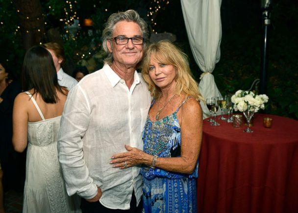 PHOTO: Kurt Russell and Goldie Hawn attend the 'Wild Wild Country' filmmaker toast at Inn of the Seventh Ray, Aug. 4, 2018, in Topanga, Calif. (Matt Winkelmeyer/Getty Images, FILE)