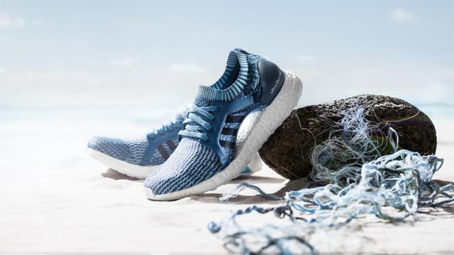 84562ed0335091 Adidas expands line of running shoes made with plastic debris found ...