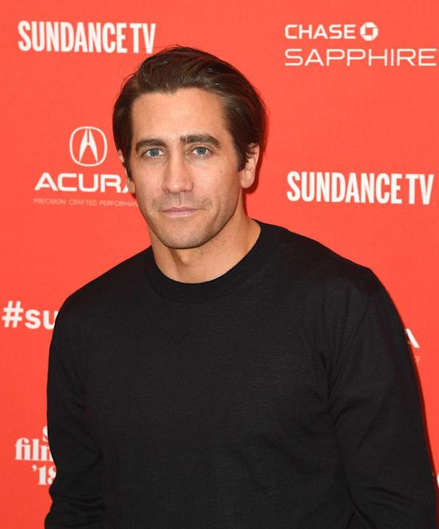 Jake Gyllenhaal attends the 2018 Sundance Film Festival at Eccles Theatre on Jan. 20. (Photo: C Flanigan/FilmMagic)