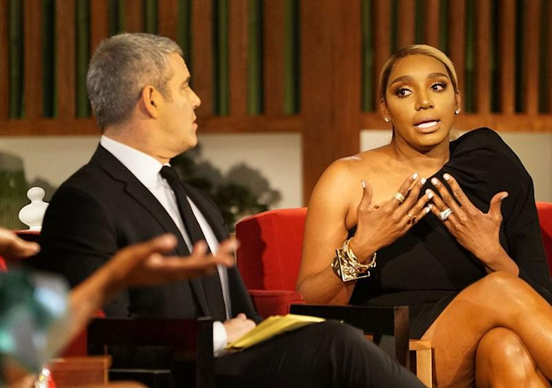 Andy Cohen and NeNe Leakes | Annette Brown/Bravo