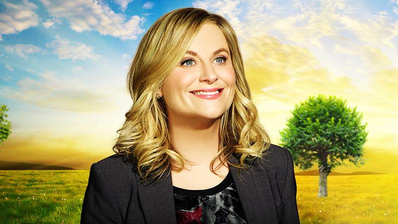 Amy Poehler ad Leslie Knope in Parks and Recreation promo