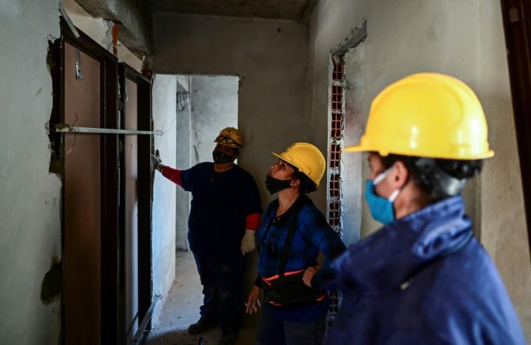 The number of women working in the construction industry in Argentina has grown rapidly, but remains small