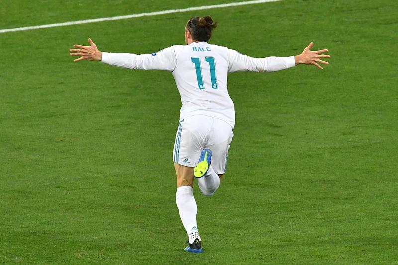 Gareth Bale scored one of the greatest goals in Champions League history with a sensational overhead scissor kick