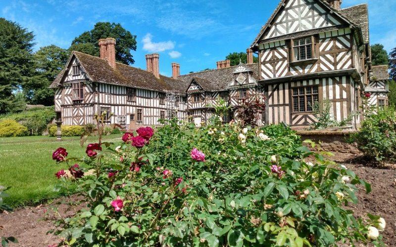 Not only can you discover one of the most famous black and white timbered house in the country, but the newly planted orchard - National Garden Scheme