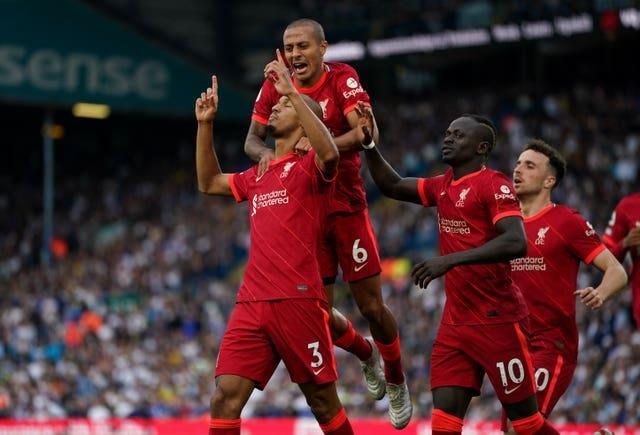 Liverpool dominated the match