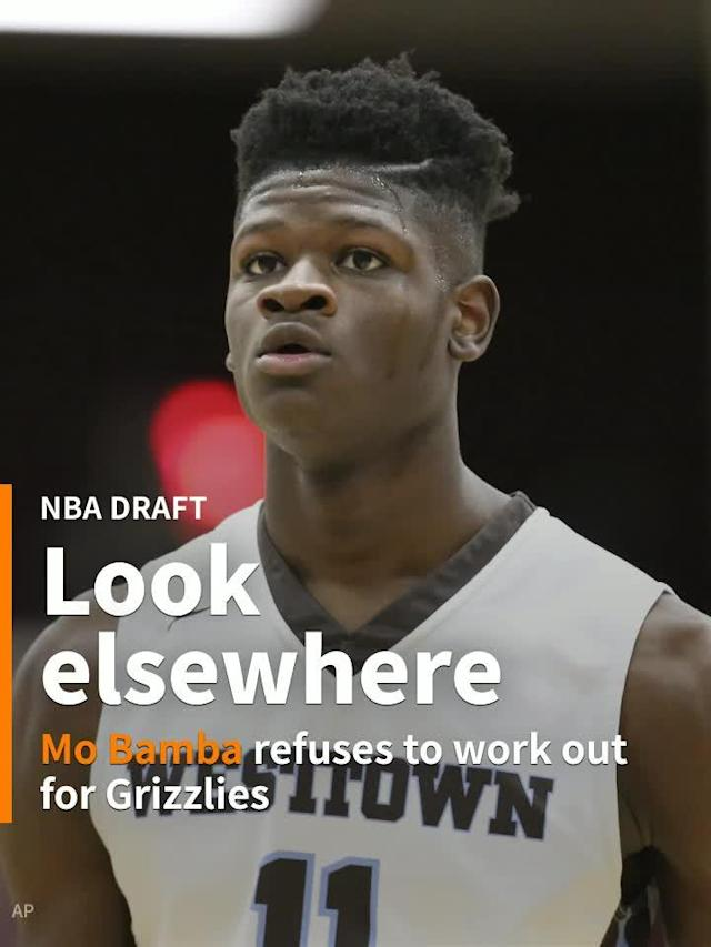 The Texas big man with an absurd 7-foot, 10-inch wingspan who blocked 3.7 shots per game in college reportedly told the Memphis Grizzlies not to bother drafting him.