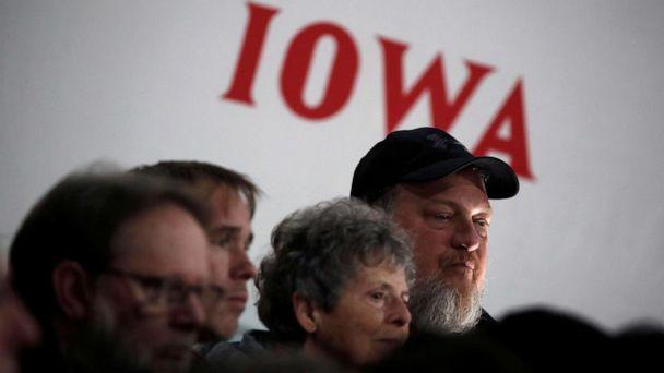 PHOTO: Local residents attend a campaign event in Council Bluffs, Iowa, Jan. 29, 2020. (Carlos Barria/Reuters, FILE)