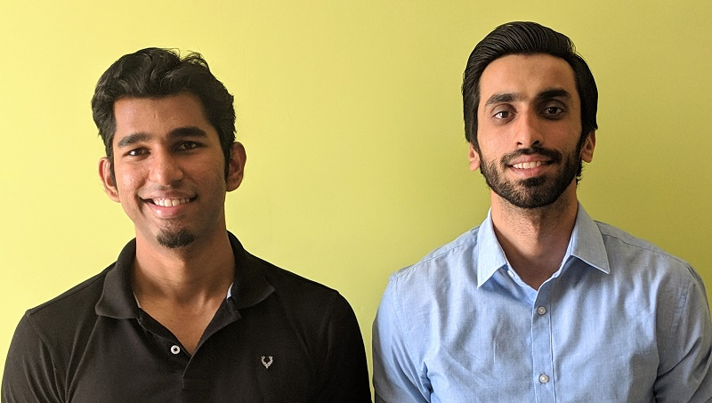 Shashwat Diesh and Aqib Mohammed, Co-founders of Azah