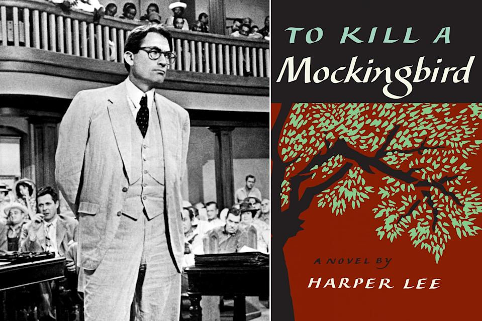 """<p>Beloved in almost equal measure, the book and film versions of <a href=""""http://ew.com/creative-work/to-kill-a-mockingbird"""" rel=""""nofollow noopener"""" target=""""_blank"""" data-ylk=""""slk:To Kill a Mockingbird"""" class=""""link rapid-noclick-resp""""><i>To Kill a Mockingbird</i></a> retain their power more than a half-century later, with their themes remaining all too potent in contemporary America. <a href=""""https://www.youtube.com/watch?v=tNxrnOC_WTs"""" rel=""""nofollow noopener"""" target=""""_blank"""" data-ylk=""""slk:Gregory Peck's portrayal"""" class=""""link rapid-noclick-resp"""">Gregory Peck's portrayal</a> of noble Alabama lawyer <a href=""""https://ew.com/movies/2017/06/18/atticus-finch-to-kill-a-mockingbird-fathers-day-tribute/"""" rel=""""nofollow noopener"""" target=""""_blank"""" data-ylk=""""slk:Atticus Finch"""" class=""""link rapid-noclick-resp"""">Atticus Finch</a> has long since been enshrined as a performance for the ages, and <a href=""""http://ew.com/tag/harper-lee"""" rel=""""nofollow noopener"""" target=""""_blank"""" data-ylk=""""slk:Harper Lee"""" class=""""link rapid-noclick-resp"""">Harper Lee</a>'s Pulitzer Prize-winning book remains as widely read as ever. We can't fathom what else we can add to the mountains of praise heaped on both to convince you to put <i>To Kill a Mockingbird </i>in front of your eyes if you haven't already, but perhaps we'll say this: We'd love to see a world in which everyone heeded its call for empathy.</p>"""