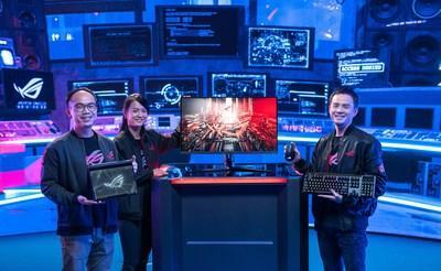 ASUS Republic of Gamers Announces an Astounding Array of Gaming Innovations at CES 2021