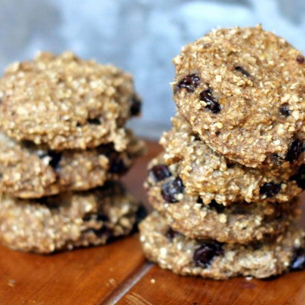 """<p>This might just be the easiest cookie recipe in the world—and it's dang delicious, too.</p><p><a class=""""link rapid-noclick-resp"""" href=""""https://www.ambitiouskitchen.com/2-ingredient-healthy-banana-bread-breakfast-cookies-with-delicious-add-ins/"""" rel=""""nofollow noopener"""" target=""""_blank"""" data-ylk=""""slk:GET THE RECIPE"""">GET THE RECIPE</a></p><p><em>Per serving: 60 calories, 0.8 g fat, 12.4 g carbs, 1.7 g fiber, 2.1 g sugar, 1.4 g protein</em><br></p>"""