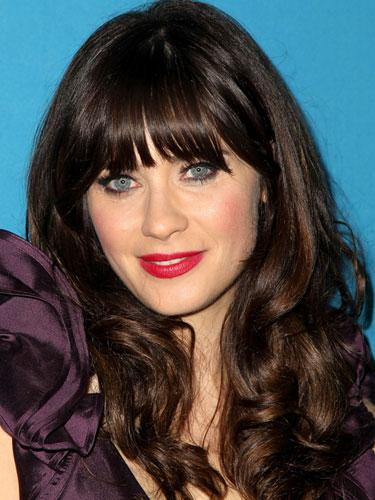 """<div class=""""caption-credit""""> Photo by: Jonathan Leibson/Getty</div><div class=""""caption-title"""">Bangs that don't flatter your face</div>Bangs always help accentuate the eyes, but can actually work against you if you're trying to downplay certain other features. For example, Zooey Dashanel's straight-cut, blunt bangs make her amazing eyes stand out even more, but they also draw attention to her nose. While this works for her, it could be problematic for others. """"If you don't have an amazing nose, than you should do wispy bangs instead of straight across in order to keep the attention on your eyes,"""" says Gabay. <br> <br> <b>More from REDBOOK: <br></b> <ul>  <li>  <b><a rel=""""nofollow"""" target="""""""" href=""""http://www.redbookmag.com/beauty-fashion/tips-advice/best-at-home-hair-color?link=rel&dom=yah_life&src=syn&con=blog_redbook&mag=rbk"""">Best At-Home Hair Color Trends</a></b>  </li>  <li>  <b><a rel=""""nofollow"""" target="""""""" href=""""http://www.redbookmag.com/beauty-fashion/tiptool/how-to-look-younger#/category1?link=rel&dom=yah_life&src=syn&con=blog_redbook&mag=rbk"""">43 Sneaky Tricks to Look Younger</a></b>  </li> </ul>"""