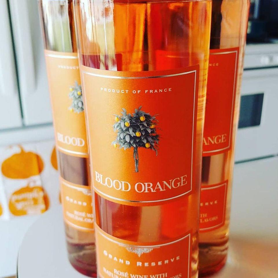 """<p>You've had red, white, and rosé, but orange wine might be your new favorite. Blood Orange Grand Reserve wine is a rosé wine with natural orange flavors. Sounds like a tasty sip for the warmer months, right? And it has made its way to Trader Joe's. <a href=""""https://www.bestproducts.com/lifestyle/a23009763/trader-joes-blood-orange-wine/"""" rel=""""nofollow noopener"""" target=""""_blank"""" data-ylk=""""slk:Find out more about it here"""" class=""""link rapid-noclick-resp"""">Find out more about it here</a>.</p>"""