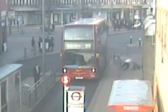 Bus driver's fight with passenger caught on CCTV