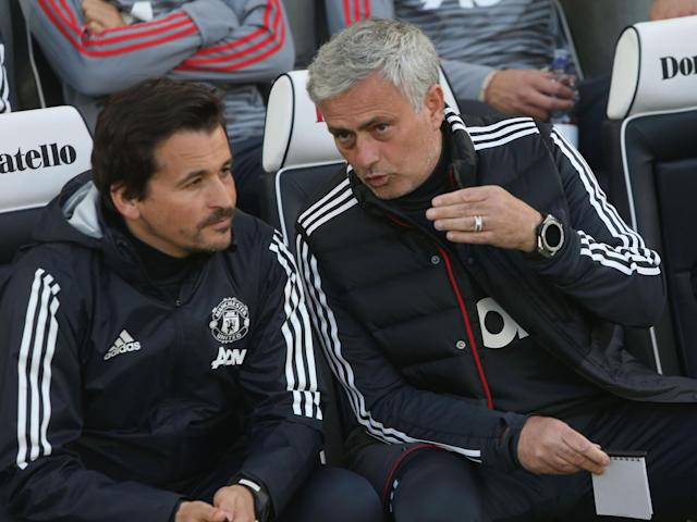 Jose Mourinho will miss his assistant Rui Faria