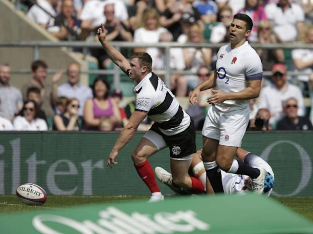 England suffer fourth straight defeat in embarrassing humbling by Barbarians ahead of South Africa tour