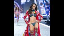 "<p>Puerto Rican model Joan Smalls has walked in Fashion Weeks for high-end designers across the globe, but she's also walked in the Victoria's Secret Fashion Show from 2011 to 2016. In 2012, Smalls co-hosted the short-lived revival of MTV's ""House of Style,"" along with fellow Victoria's Secret model Karlie Kloss.</p>"