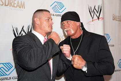 Who ya got: Cena or Hogan? (Photo by Erika Goldring/Getty Images)