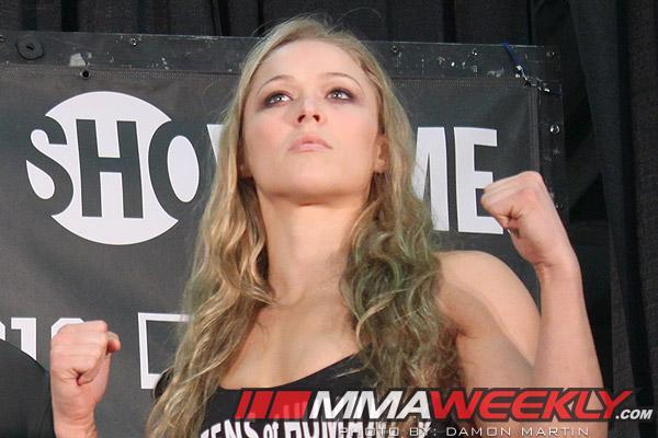 Ronda Rousey First UFC Women's Champion; You Wanna Fight Her, You Fight at 135