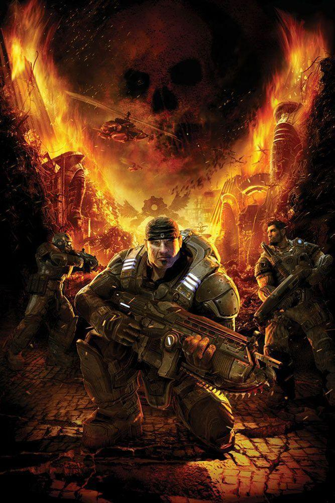 "<p>If <em>Halo</em> helped establish the Xbox as a console for shooting games, <em>Gears of War </em>solidified its supremacy. One of the fast-selling games of the years, <em>Gears of War</em>'s post-apocalyptic alien shooter is a testosterone-fueled bloodbath that follows Marcus Fenix, a COG soldier who fights through waves and waves of the Locust Horde, the alien species laying waste to the planet Sera. With great combat mechanics wrapped in a compelling story, it's no wonder <em>Gears of War</em> exploded into a franchise all its own.</p><p><a class=""link rapid-noclick-resp"" href=""https://www.amazon.com/Gears-War-Ultimate-Xbox-One/dp/B00ZMBLKPG/?tag=syn-yahoo-20&ascsubtag=%5Bartid%7C10054.g.2871%5Bsrc%7Cyahoo-us"" rel=""nofollow noopener"" target=""_blank"" data-ylk=""slk:PLAY NOW"">PLAY NOW</a></p>"