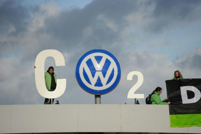 'If you keep diesel cheap... nobody will buy an electric car, it's impossible,' says Volkswagen chief executive Herbert Diess (AFP/PETER STEFFEN)