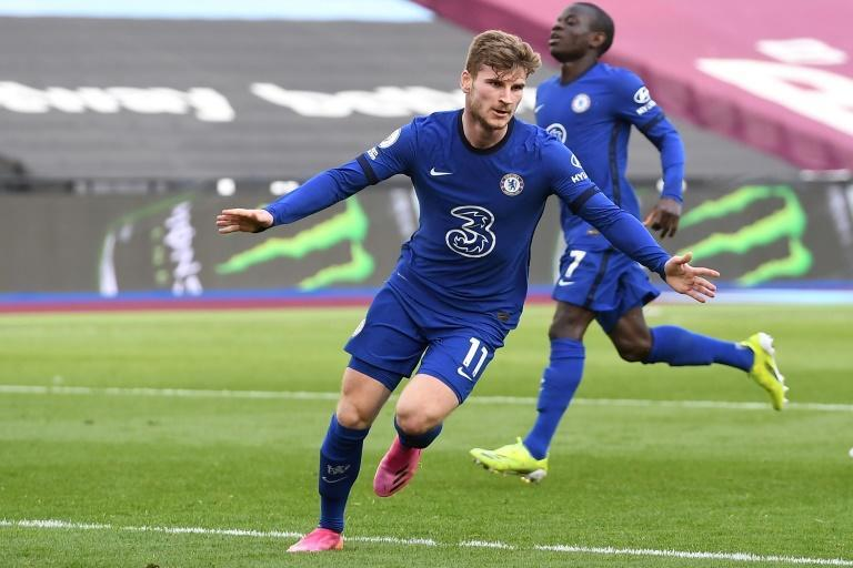 Just in Timo: Timo Werner ended his two-month goal drought to earn Chelsea a 1-0 win over West Ham