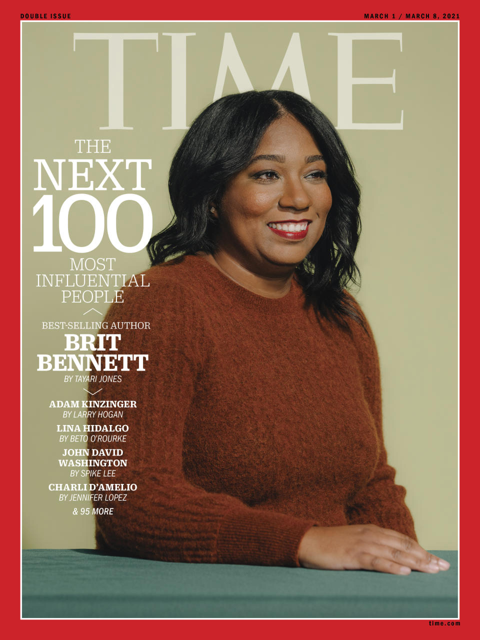 TIME100 Next cover Brit Bennett