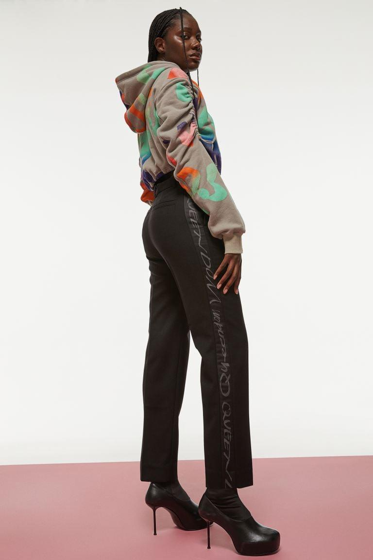 <p>This <span>H&amp;M Side-stripe Pants</span> ($99) and <span>H&amp;M Crop Hoodie</span> ($60) is a great outfit. It's serious on bottom and fun on top.</p>