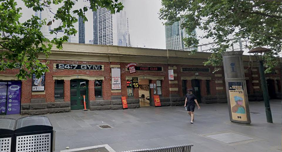 Mr Doherty and Ms Pham's businesses on Flinders Street. Source: Google Maps