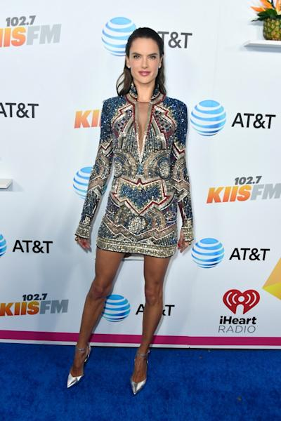Celebs stepped out in Los Angeles to attended the annual iHeartRadio KIIS-FM concert on Saturday.