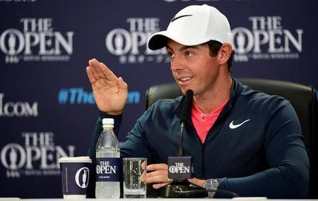 Golf - The 146th Open Championship - Royal Birkdale - Southport, Britain - July 19, 2017   Northern Ireland's Rory McIlroy during a press conference ahead of The Open Championship   REUTERS/Hannah McKay