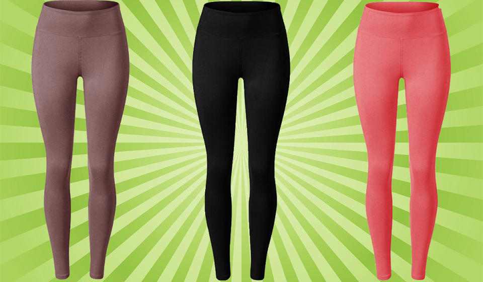 These luscious leggings come in more than 25 colors in full length and capri! (Photo: Amazon)