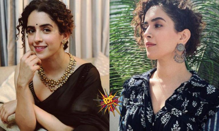 """""""It makes me happy and extremely grateful whenever I'm in front of the camera"""" : Sanya Malhotra"""