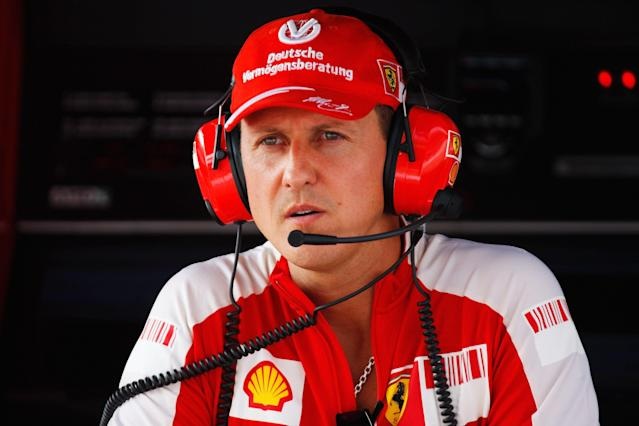 Schumacher during practice for the Italian Formula One Grand Prix at the Autodromo Nazionale di Monza on September 11, 2009 in Monza, Italy.