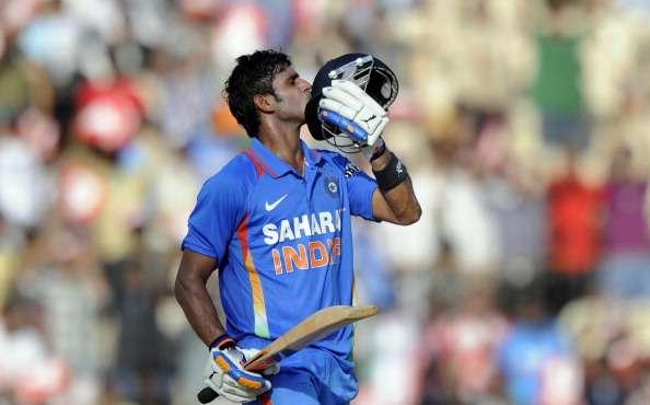 Tiwary scored a century against West Indies but didn't play the next 14 ODIs