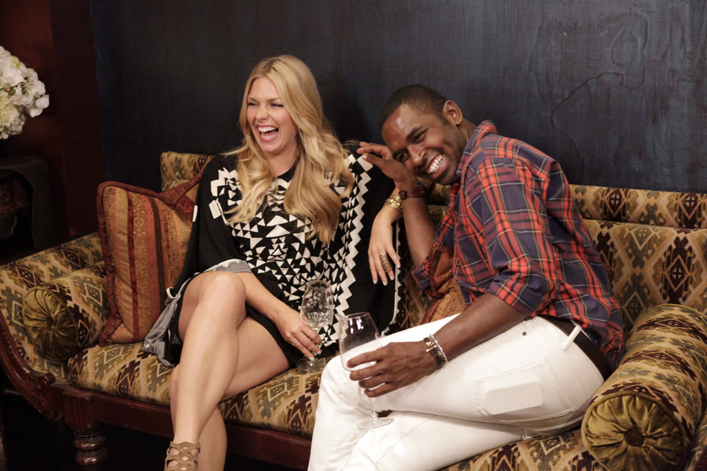 """Amanda Averill and Justin Sylvester in """"Beverly Hills Nannies."""""""