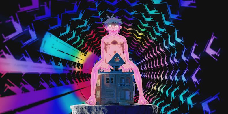 "Gorillaz's ""Saturnz Barz"" Video Has Best Debut in YouTube VR History"
