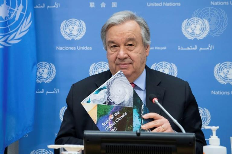 """UN Secretary-General António Guterres says the world is """"on the verge of the abyss"""""""