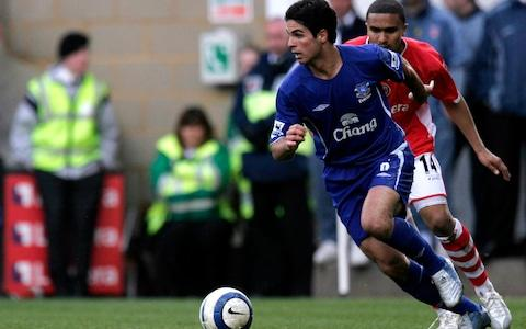 <span>Mikel Arteta was once a part of an Everton team going places under David Moyes</span> <span>Credit: action images </span>