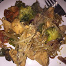 <p>Ken Hom showed us years ago how easy stir frying is, and nothing's changed. Stick with something like beansprouts to keep the cooking time down, and you could always chuck in some cooked chicken. You won't need long and you'll have a tasty oriental dinner. <i>[Picture: Instagram/Ash AKA ashtransformation]</i></p>