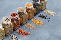 """<p>If you're a whiz in the kitchen, Silberstein advises keeping the things you use most often close on hand. She recommends putting your spices on a lazy Susan either on the counter or in a cabinet next to your oils and vinegars, somewhere by the stove so they're easy to reach when you need them. </p><p><a class=""""link rapid-noclick-resp"""" href=""""https://www.amazon.com/Copco-2555-0187-Non-Skid-Cabinet-Turntable/dp/B0036OQWT0/ref=sr_1_4?crid=2H0FQSPCQBONP&dchild=1&keywords=lazy+susan&qid=1610655152&sprefix=LAZY+SU%2Caps%2C174&sr=8-4&tag=syn-yahoo-20&ascsubtag=%5Bartid%7C10070.g.3310%5Bsrc%7Cyahoo-us"""" rel=""""nofollow noopener"""" target=""""_blank"""" data-ylk=""""slk:SHOP LAZY SUSANS"""">SHOP LAZY SUSANS</a></p>"""