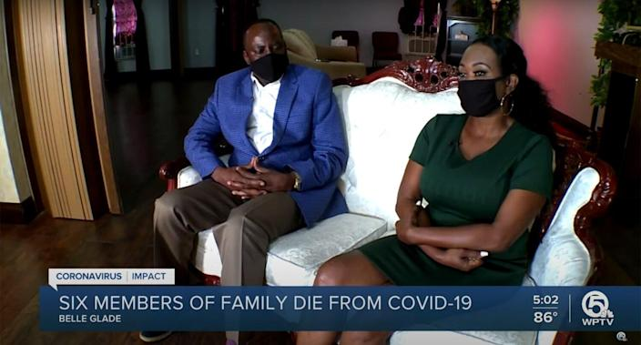 Belle Glade mayor, wife lose 6 family members to COVID-19