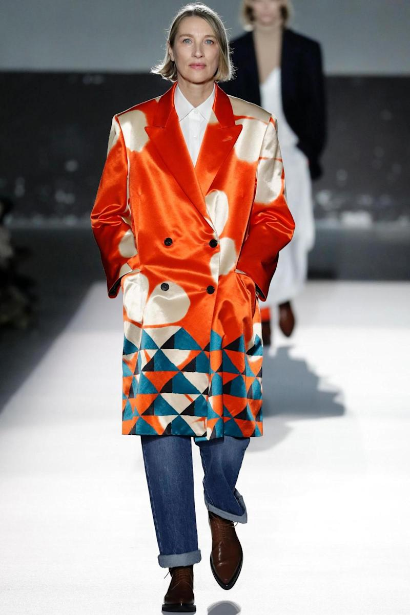 Dries Van Noten at PFW (AFP/Getty Images)