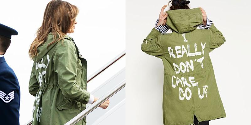 'No hidden message' in Melania Trump jacket, spokesperson says