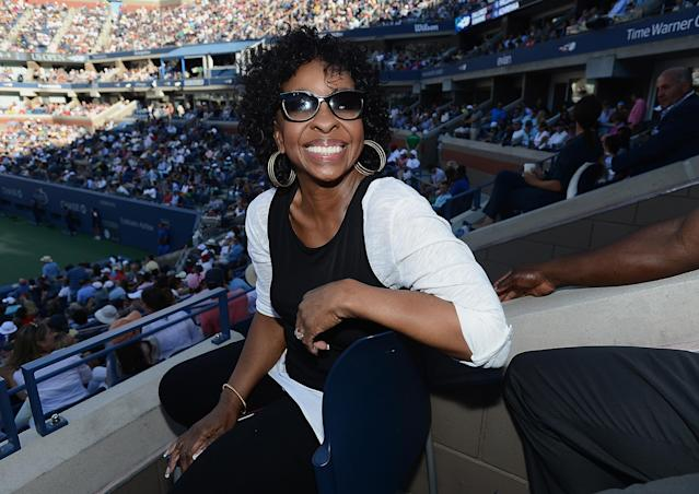 NEW YORK, NY - SEPTEMBER 08: Musician Gladys Knight attends the The Moet & Chandon Suite at USTA Billie Jean King National Tennis Center on September 8, 2013 in New York City. (Photo by Brad Barket/Getty Images for Moet & Chandon)