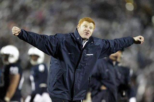 Mike McQueary came to the rescue Thursday for a car-crash victim. (AP)