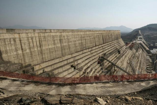 Ethiopia's Renaissance Dam in the Nile River has been met with vehement resistance from downstream Egypt and Sudan (AFP Photo/EDUARDO SOTERAS)